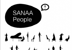 SANAA People 黑白人物psd分层素材