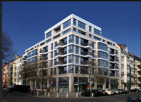 凸凹明显的沿街建筑效果图psd分层素材下载