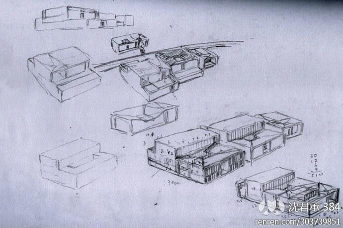 宁波博物馆手绘