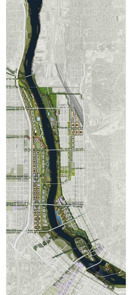 景观规划设计总平面图图