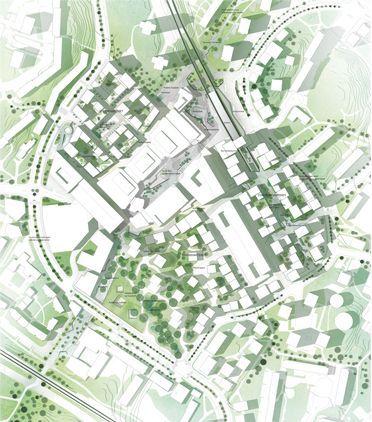 城市设计平面图参考-创意图库-设计e周