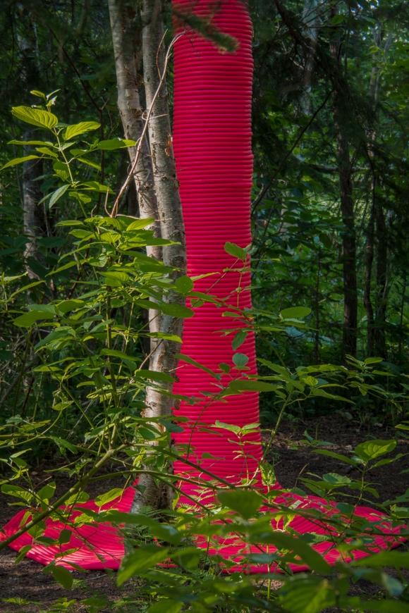 加拿大国际花园节作品:粉色的冲撞 - ALA-Designdaily - ALA-Designdaily天天设计